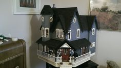 My Completed Pierce Dollhouse