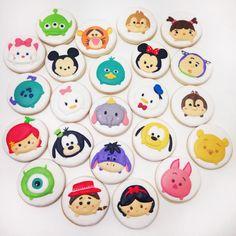 Disney Tsum Tsum ❤️ #cookies #decoratedcookies #customcookies #decoratedcustomcookies #customdecoratedcookies #cookielove #cookieart #sugarcookies #lecheria #lechería #royalicingcookies #sugarart #foodart #foodie #edibleart #cookieart #galletasdecoradas #bolachasdecoradas #handmade #sweet #homemade #instagramers #tsumtsum #disney #disneytsumtsum