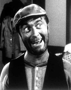 """""""It's me, It's me, It's Ernest T.!""""  Ernest T. Bass...one of our favorites on the Andy Griffith Show"""