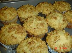 OKay, THese are without a doubt the BEST banana muffins I have ever eaten in my life ! Light and tender, just perfect ! TRY THESE TODAY