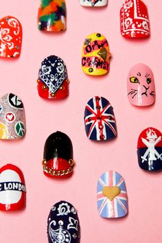Listen up, London: Naomi Yasuda is on her way! What better way to celebrate OC's London opening than by having Naomi deck out your nails with iconic London and OC designs! The Union Jack, OC's signature bandana print, Basil the cat, and the Tube sign are just some of the hand-painted tips available. Naomi's pop-up salon will be open from 12-6pm on Friday, July 20 only. Call now to book your appointment!  OPENING CEREMONY LONDON31-32 King Street London WC2E 8JD (+44) 203-588-012