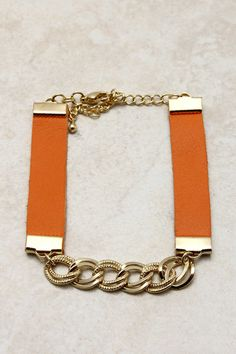 Leather Morgan Bracelet