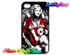 Sexy Marilyn Monroe San Francisco 49ers iPhone 5 by SuitUpCraft, $14.99