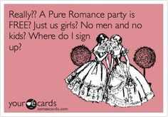 Who wouldn't like that?!  Contact me @ 817.658.0989 to book your party, place an order, or just to talk about the product!   https://pureromance.com/christinarichardson