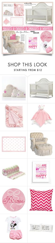 """""""A Mommy's Love - Baby Room"""" by nonniekiss ❤ liked on Polyvore featuring interior, interiors, interior design, home, home decor, interior decorating, Gabriella, Baby Aspen, Giggle and The Rug Market"""