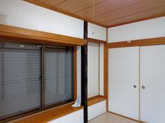 四国化成の「じゅらく塗り壁」でリフォームした和室壁。白でスッキリ!