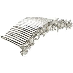John Lewis Row Of Pearls Hair Comb ($34) ❤ liked on Polyvore