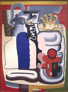 LE CORBUSIER - Nature morte au siphon - 1928