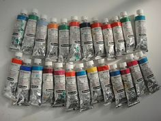 Schmincke Mussini Oil Paints contain natural resin which makes them a joy to work with.