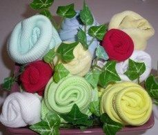Baby Shower – Baby Clothing Bouquet — craftbits.com