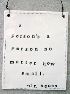 A person's a person no matter how small #prolife