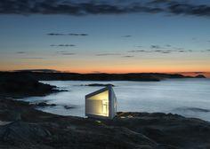 Squish Studio on Fogo Island, Canada. Designed by Saunders Architecture