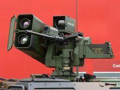 mini-Samson including machine gun and Spike missile Big Guns, Cool Guns, Military Photos, Military Weapons, Gun Turret, Sci Fi Weapons, Engin, Military Equipment, War Machine