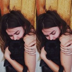Callie) *she had fallen asleep holding her puppy and then she ends up waking up when she hears thunder and she whimpers softly and hides under the covers then she hears you come in*