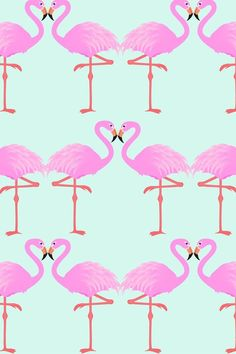 I love flamingos! Cute Wallpaper Backgrounds, Cool Wallpaper, Pattern Wallpaper, Cute Wallpapers, Iphone Wallpapers, Flamingo Wallpaper, Summer Wallpaper, Walpapers Iphone, Pink Iphone