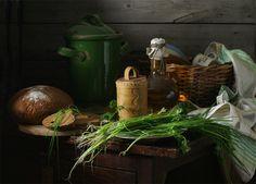 photo: Натюрморт с зелёным луком. | photographer: Ира Быкова | WWW.PHOTODOM.COM