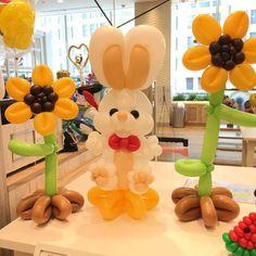 Ballon Animals, Easter Specials, Balloons And More, Balloon Flowers, Ideas Para Fiestas, Balloon Decorations, Tea Party, Centerpieces, Holiday Decor