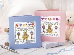 Royal Baby Card - Free Chart. get set for the new prince or princess, with a cross stitch card to stitch and send to William and Kate!