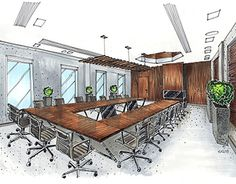 """Check out new work on my @Behance portfolio: """"Sketch for Moscow Exchange (Meeting room)"""" http://be.net/gallery/54230625/Sketch-for-Moscow-Exchange-(Meeting-room)"""