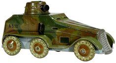 Marklin German Armored Half-Trac