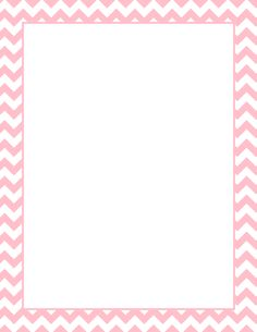 Printable pink chevron border. Free GIF, JPG, PDF, and PNG downloads at http://pageborders.org/download/pink-chevron-border/. EPS and AI versions are also available.