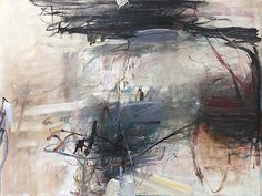"""Tom Lieber """"Blue Sweep"""" 2014 Oil on Canvas30 x 40 Inches"""