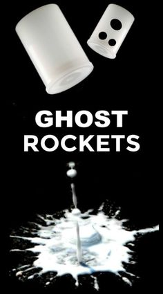 Wow kids of all ages with flying ghost rockets! #ghostrockets #ghostactivitiesforkids #halloween #scienceexperimentskids #growingajeweledrose Halloween Science, Halloween Activities For Kids, Science Activities For Kids, Halloween Crafts For Kids, Halloween Games, Halloween Party, Science Ideas, Kids Crafts, Halloween Classroom Decorations