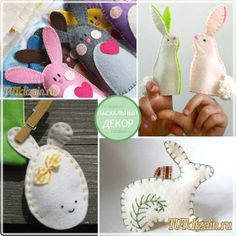 Easter Felt Crafts