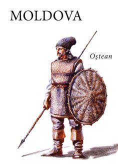 Moldavian soldier of the large host, century Romania Facts, Renaissance, European Costumes, History Medieval, Tribal Warrior, Tropical Forest, Arm Armor, Medieval Armor, Iron Age