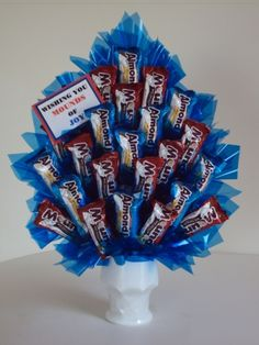 Mounds and Almond Joy Bouquet
