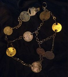 Hey, I found this really awesome Etsy listing at https://www.etsy.com/listing/200415423/radici-multi-chain-and-coin-necklace