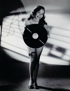 "damsellover: "" Monica Lewis showing off her vinyl. Vinyl Music, Lp Vinyl, Vinyl Art, Lps, Jeane Manson, Pictures Of Lily, Music Machine, Vinyl Junkies, Music Pics"