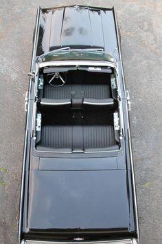 1965 Lincoln Continental Laguna Beach Presidential Black W/ Black Leather W