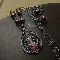 iza malczyk - on a nice site filled with beautiful wire wrap jewelry