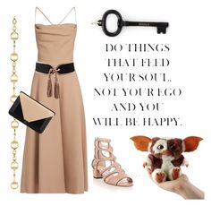 """""""Key to life"""" by ellenfischerbeauty ❤ liked on Polyvore featuring Valentino, Tiffany & Co., Balmain, Jimmy Choo, Gucci and Chanel"""