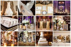 La Boda del Gran Gatsby #boda #inspiración