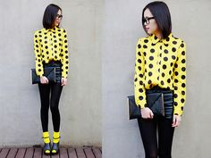 We all live in a yellow submarine (by IAN CHEN) http://lookbook.nu/look/4637217-We-all-live-in-a-yellow-submarine