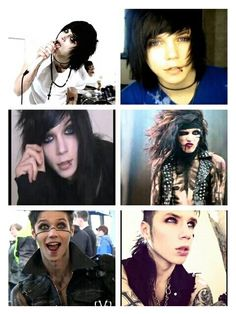 Andy over the years! <3 THE FIRST ONE IS THE BEST WHY IN THE HELL WOULD HE CUT HIS BEAUTIFUL HAIR!!!!!
