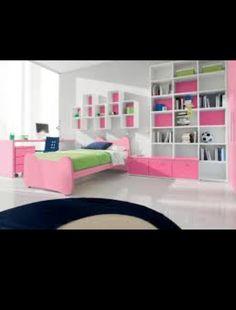 Sophisticated tween bedroom idea with accents.