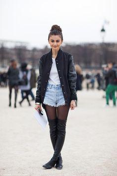 During Paris Fashion Week #natalialaverdian #paris #fashionweek #looks #style #fashion #streetstyle