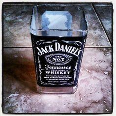 jack daniels drinking glass