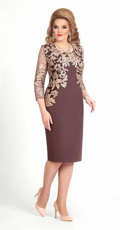 Lovely mother of the bride or groom cocktail length dress Mother Of Groom Dresses, Mothers Dresses, Elegant Dresses, Beautiful Dresses, Formal Dresses, Mom Dress, Lace Dress, African Fashion Dresses, Fashion Outfits