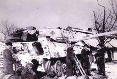 """Porsche """" King Tiger """" tank - Anneliese 1944"""