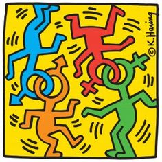 Pop Art Inspiration Keith Haring Ideas For 2019 Jean Michel Basquiat, Art Pop, Keith Haring Art, Keith Haring Poster, Art Room Doors, Pop Art Artists, Paper Pop, Love Posters, Easy Art Projects