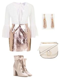 """""""Holiday ready #minidress#"""" by nataliya-mostriansky on Polyvore featuring Forever 21, Topshop, Ann Taylor and Valentino"""