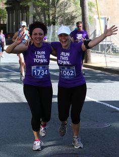 They run this town. Marathon Photo, Atlantic Canada, Sporty, Running, Blue, Fashion, Moda, Fashion Styles, Keep Running