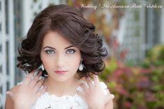 свадебные причёски на средние волосы: 26 тыс изображений найдено в Яндекс.Картинках
