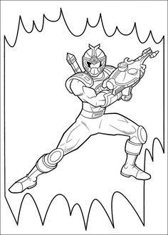 power rangers coloring pages   coloring pages » power rangers ... - Blue Power Rangers Coloring Pages