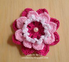Croche e Cia: Flores de croche
