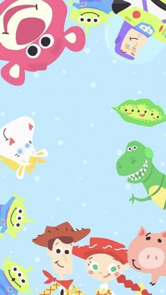 Toy Story is an American animated, adventure and comedy movie released in . - Toy Story is an American animated, adventure and comedy movie released in It is known to be t - Toy Story Birthday, Toy Story Party, Disney Phone Wallpaper, Wallpaper Iphone Cute, Trendy Wallpaper, New Wallpaper, Elmo Wallpaper, Painting Wallpaper, Disney Toys